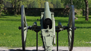 Stock Video Footage of Old artillery cannon