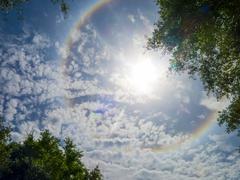 Stock Photo of solar ring