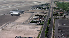 Las Vegas Strip Airport Nevada Stock Footage