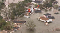 New Orleans Hurricane Katrina - stock footage