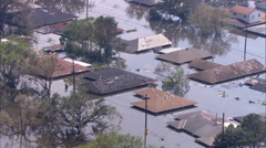 Katrina Hurricane Damage - stock footage
