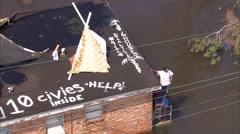 Katrina Hurricane Destruction Stock Footage