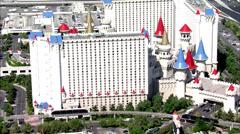 Las Vegas Hotels Excalibur Arkistovideo