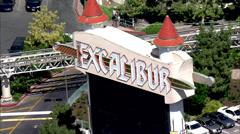 Excalibur Hotellit Las Vegas Nevada Arkistovideo