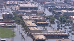 Hurricane Katrina Destruction New Orleans Stock Footage