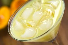 lucuma cream liqueur - stock photo