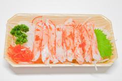 Mixed sashimi, raw fish Stock Photos