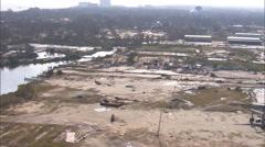 Casino Destruction Hurricane Katrina Stock Footage