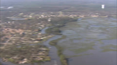 Louisiana Hurricane Katrina Destroyed Neighborhood Stock Footage