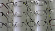 Stock Video Footage of Eye Glasses Display