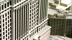 Stock Video Footage of Caesars Palace Las Vegas