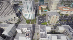 Stock Video Footage of Downtown Dadeland midrise housing complex