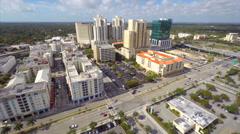 Downtown Dadeland Miami FL Stock Footage