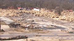 Shoreline New Orleans Hurricane Katrina Stock Footage