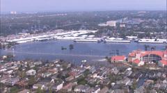 Hurricane Katrina Aftermath Damage Flood Stock Footage