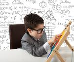 Stock Illustration of young genius