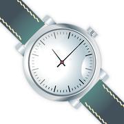 wristwatch - stock illustration