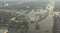 Hurricane Katrina Flood Stock Footage