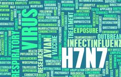 H7n7 Stock Illustration