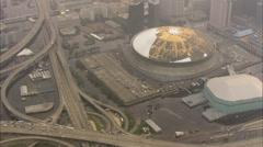 Superdome Tulvat Hurrikaani Katrina Arkistovideo
