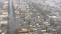 Superdome Rakennukset Hurrikaani Katrina Arkistovideo
