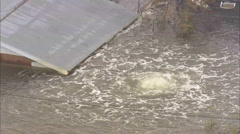 Hurricane Katrina Aftermath Destruction Stock Footage