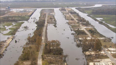New Orleans Flooded Land Stock Footage