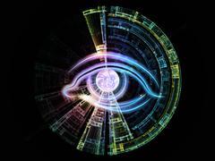 Stock Illustration of Sight of technology