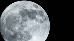 Full moon close time lapse 11326 Stock Footage