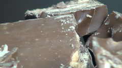 Pieces of Chocolate, Candy Bars, Sweets Stock Footage