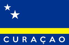 Flag of curacao Stock Illustration
