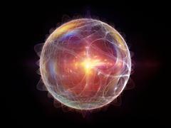 Stock Illustration of Elegance of Fractal Sphere