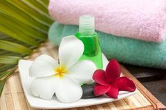 women hygiene - spa concept - stock photo