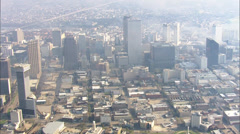 Skyline New Orleans Hurricane Katrina Stock Footage