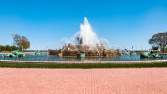 Buckingham Memorial Fountain Stock Photos