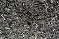 Black Mulch - stock photo