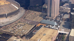 Hurricane Katrina Superdome Arkistovideo