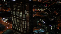 Pittsburgh Aerials UPMC Slomo Stock Footage