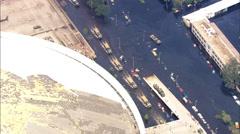 Relief Trucks Superdome Hurrikaani Katrina Arkistovideo