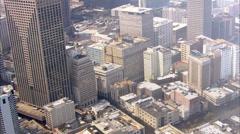 New Orleans Skyline Stock Footage