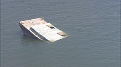Debris Ocean New Orleans - stock footage