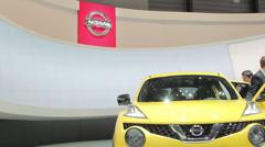 Nissan juke Stock Footage