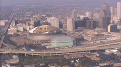New Orleans Hurrikaani Damage Superdome Arkistovideo