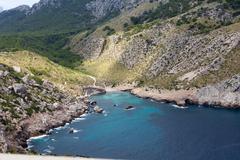 Stock Photo of cape formentor on majorca, balearic island, spain