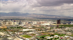 Las Vegas Desert City Stock Footage