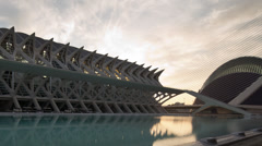 Science centre valencia spain Stock Footage