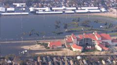 New Orleans Hurricane Flood Stock Footage