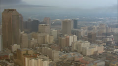 Superdome New Orleans City Stock Footage