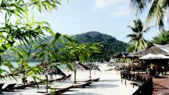Perhentian Islands Resort (Malaysia) - stock footage