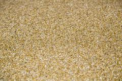 Close up of ocean sand for background and composing Stock Photos